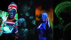 暗闇に被写体が光り輝く「光る写真」を蛍光色素とブラックライトを使って撮影する6つのテクニック - GIGAZINE
