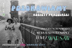Pozdrawiamy kobiety pracujące! Postcard by Wars Sawa Design, Warszawa, Warsaw, Memories of PRL.