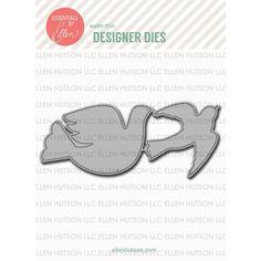 Ellen Hutson LLC - Essentials by Ellen Designer Dies, Bird Shapes by Julie Ebersole, $14.00 (http://www.ellenhutson.com/essentials-by-ellen-designer-dies-bird-shapes-by-julie-ebersole/)