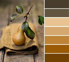 Pear color palette