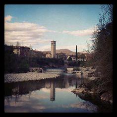 Vista dal fiume
