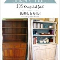"Lots of great ""Before and After"" pictures of repainted furniture, etc."