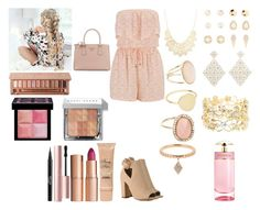 """""""Untitled #500"""" by asiebenthaler ❤ liked on Polyvore featuring maurices, Prada, Charlotte Russe, New Look, Witchery, River Island, Diane Kordas, Too Faced Cosmetics, Charlotte Tilbury and Bobbi Brown Cosmetics"""