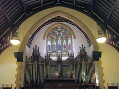 Interior view of Cathcart Trinity Church
