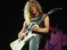 James Hetfield...one of my influences on guitar.
