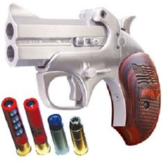 I want some derringers for fun. The Bond Arms ones look and feel nice and are made in Texas.