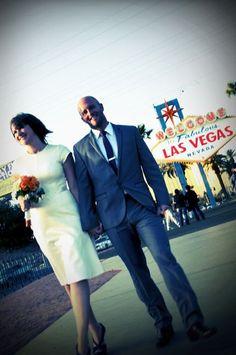 Vintage Vegas Wedding
