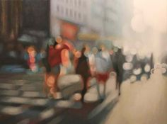 "PHILIP BARLOW'S ""OUT OF FOCUS"" OIL PAINTINGS (or my life without glasses.)"
