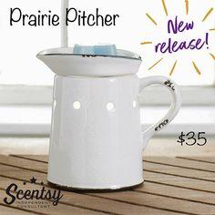 Prairie Pitcher www.rprichard.scentsy.us
