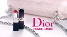 Dior Rouge Dior Lip Balm A bouquet of balms, naturally couture. Rouge Dior Baume revisits the Rouge Dior codes of style with surprising modernity and elegance. Dior 2014, The Rouge, Fitbit Alta, Lip Balm, Bouquet, Lips, Coding, Couture, Elegant