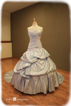 Cinderella Inspired Blue Wedding Dress - Avail & Company, LLC