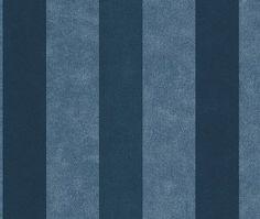 Rasch Kids Club 231205 Streep behang blauw | Rasch kinder club behang | ALPERBEHANG de grootste behangwinkel van nederland direct uit voorraad leverbaar