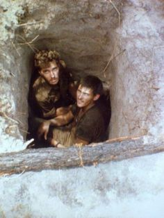 Hiding from the Mig's in a foxhole Military Life, Military History, Army Pics, Army Day, Troops, Soldiers, Brothers In Arms, Defence Force, Thug Life