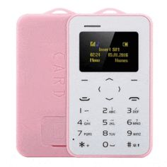 מכשיר קטן במחיר קטנטן: טלפון סלולרי בגודל של כרטיס אשראי