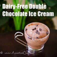 Paleo Chocolate Ice Cream Recipe (Dairy-Free)