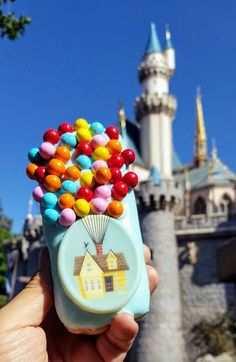 Snacking In The Parks: UP House Donut for Pixar Fest