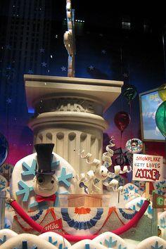 NYC: Saks Fifth Avenue's Holiday Window Display