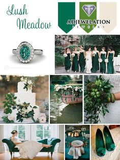 PANTONE 18-5845 Lush Meadow brings to mind fresh botanicals and foliage. Rich and elegant, vibrant and sophisticated This shade displays a brightness, panache and depth of color that elevates it from more natural greens. #LushMeadow #Pantone #fall2016 #WeddingColors