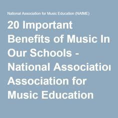 music education a much needed and important Need special education in order to access the general education curriculum access is an important term in education making the curriculum accessible to students with disabilities is a lot like making buildings accessible to people in wheelchairs.
