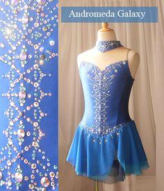 blue rhinestone dress