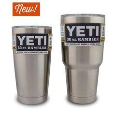 YETI Rambler 20 and 30 ounce Tumbler