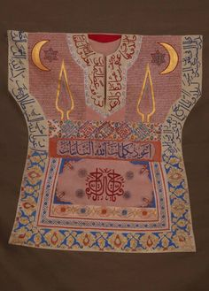 The enchanted shirts in the garment collection at Topkapı Palace are among the… Medieval Clothing, Historical Clothing, Weaving Textiles, Magic Book, Ottoman Empire, Abstract Sculpture, Embroidery Art, Islamic Art, Traditional Art
