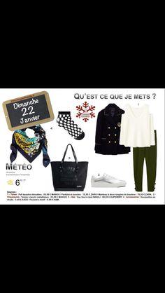 Une #tenue adéquate pour un #dimanche. #resille. les liens sur 2minutesjemhabille.fr