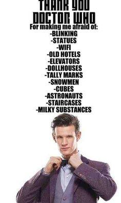 Unfortunately true- Doctor Who