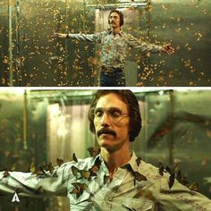 """What did the butterfly scene in """"Dallas Buyers Club"""" mean to you?"""