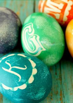 Eggtastic: Top Ten Ways to Decorate Easter Eggs from Lil'Luna