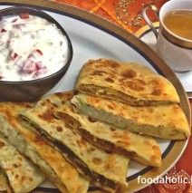Afghani Bolani Bread : Perfect for picnic and weekend brunch.