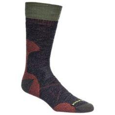Smartwool PhD Hunt Medium Crew Socks for Men - Black - XL