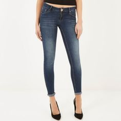 Dark wash Cara superskinny reform jeans - skinny jeans - jeans - women