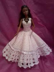 Resultado de imagem para gráficos e receitas de roupas de croche de bonecas barbie