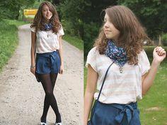 Blue (by Gabriela Grębska) http://lookbook.nu/look/1964700-Blue