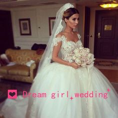 Romântico vestido de noiva moda vestido de baile querida Appliqued vestido de noiva 2015 Custom Made elegante Top em Vestidos de noiva de Casamentos e Eventos no AliExpress.com   Alibaba Group