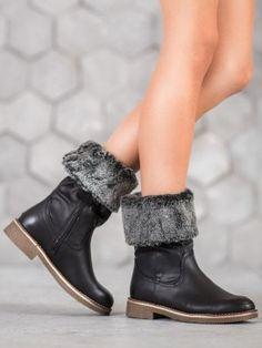 Čižmy s ohybným vrchom Booty, Ankle, Shoes, Fashion, Moda, Swag, Zapatos, Wall Plug, Shoes Outlet