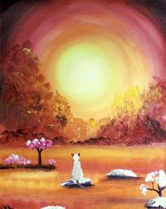 """Saatchi Art Artist krista may; Painting, """"Warm Sun"""" #art"""