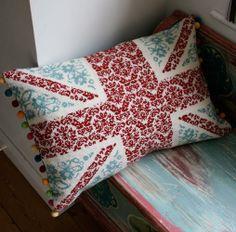 Jacqui P Crafts - Union Jack Large Fleur Cross Stitch Kit, £75.00 (http://www.jacquip.co.uk/union-jack-large-fleur-cross-stitch-kit/)