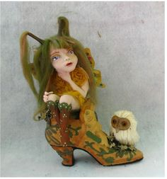 Poppy Shoe OOAK Fairy http://cgi.ebay.com/ws/eBayISAPI.dll?ViewItem=161075553350