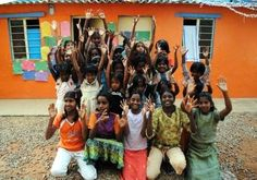 Hurrah! said the children at the GoEco Teaching and Childcare program in Delhi, India - For your chance to be a part of this project, visit the project page at http://www.goeco.org/project/329/Volunteer_in_India_Teaching_and_Child_Care_in_Delhi#
