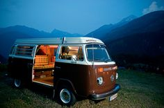 Best Vw Camper Westfalia Ideas That Will Blow Your Mind 20 Vw T2 Camper, Vw Bus T2, Volkswagen Transporter, Westfalia Van, Kombi Interior, T2 T3, Vw Camping, Combi Vw, Mini Bus