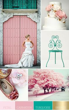 A {Kiss} of Color | Lifestyle Blog | Style, Decor, DIY's, Beauty, Weddings, Life.: Weddings: Summer Color Schemes