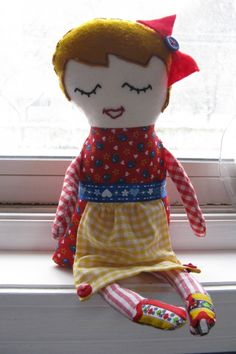 a version from Black Apple Doll pattern