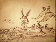 Risultati immagini per chiara bautista story Chiara Bautista, Arte Horror, Mermaid Art, Dark Art, Amazing Art, Awesome, Art Inspo, Illustrators, Fantasy Art