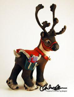 Gorgeous Custom My Little Pony Prancer the Reindeer