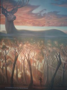 vladimir kush _ art exhibition an invitation to fantasy world