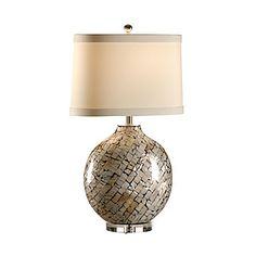 CABIBI SHELL LAMP  Wildwood Lamps - Tommy Bahama Collection