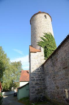 Dinkelsbühl - Germany - Oberer Mauerweg - Krugturm