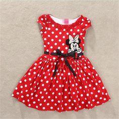 $8.34 (Buy here: https://alitems.com/g/1e8d114494ebda23ff8b16525dc3e8/?i=5&ulp=https%3A%2F%2Fwww.aliexpress.com%2Fitem%2Fgirl-clothes-vestidos-roupas-infantil-meninas-vestir-children-s-kid-clothing-brand-polk-dot-party-dresses%2F32367883311.html ) girl clothes vestidos roupas infantil meninas vestir children's / kid clothing brand polk dot party dresses minnie costume for just $8.34
